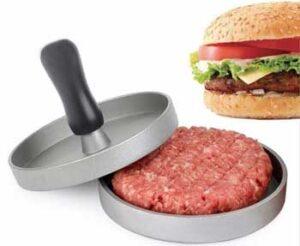 Prensa para hamburguesa